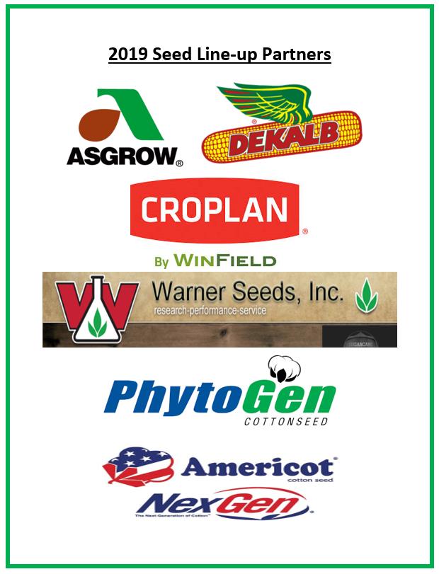 2019 Seed Lineup