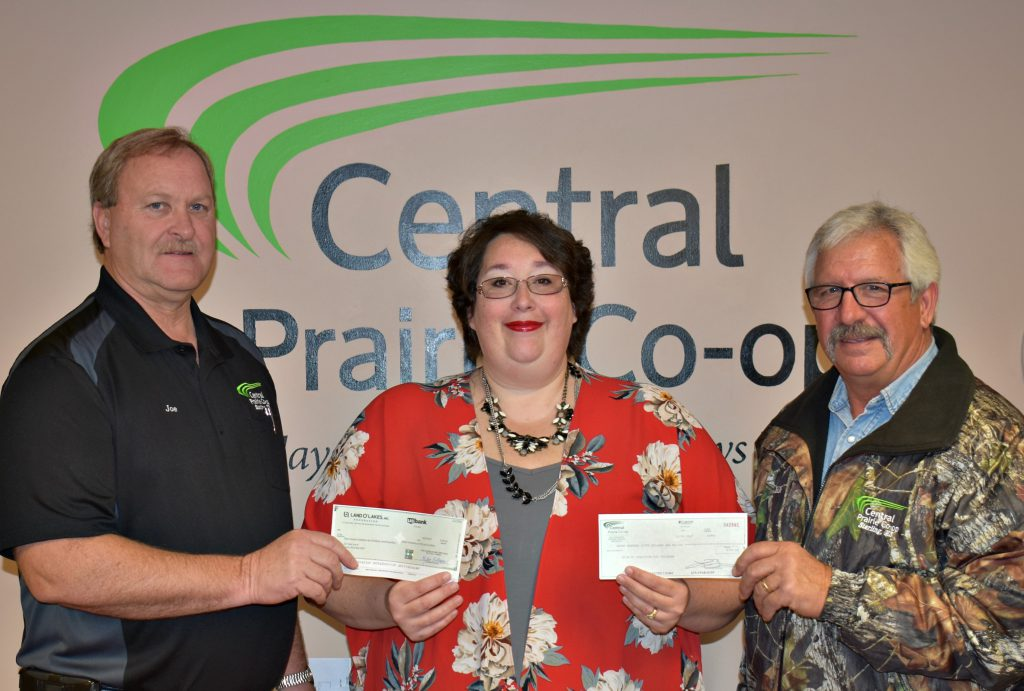 L to R: CPC General Manager Joe Schauf, Point of Grace Representative Raechel Manley and CPC Board Member Jack Farney