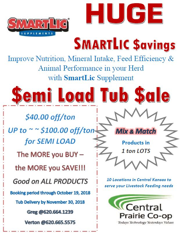 Fall 2018 Mineral Semi Load Sale