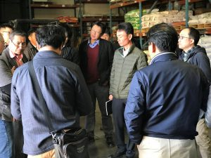 Hutchinson Host Japanese Farmers
