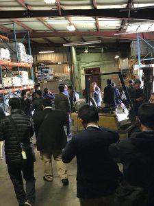 Hutchinson Host Japanese Farmers